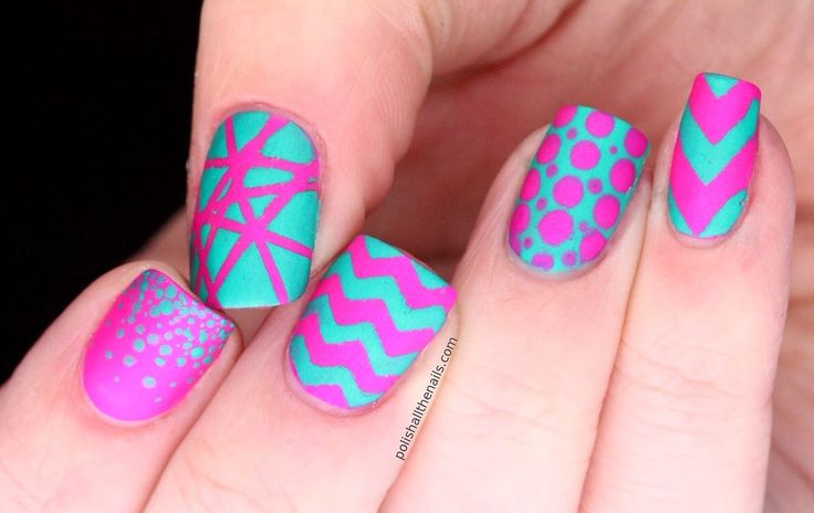 gorgeous pictures of nail designs all inspiration article - Bright Colored Nail Designs – Slybury.com