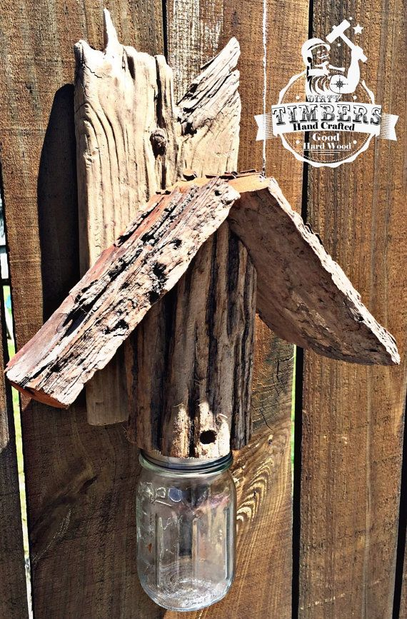 how to make a wood bee trap