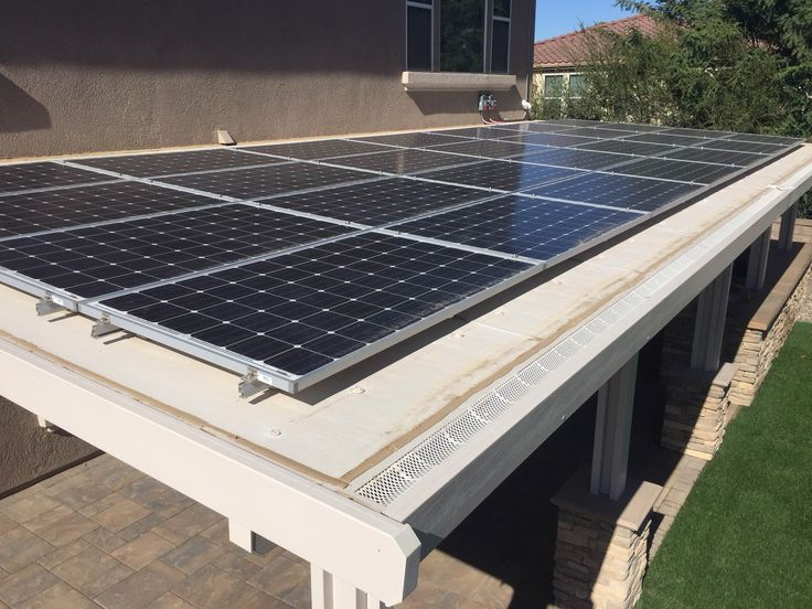 Solar Panels Work Beautifully As A Patio Cover | Napelem | Pinterest | Patio,  Solar Panels And Solar