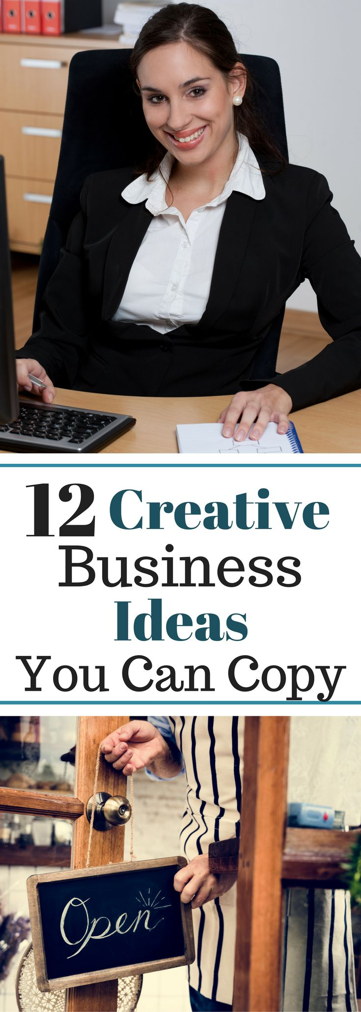 12 Creative Business Ideas You Can Copy - Start your business TODAY!