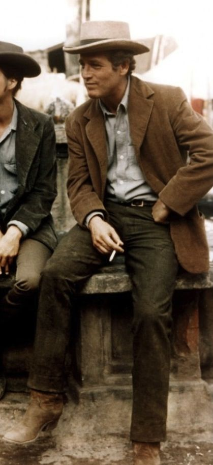Paul Newman as Butch Cassidy in Butch Cassidy and the Sundance Kid