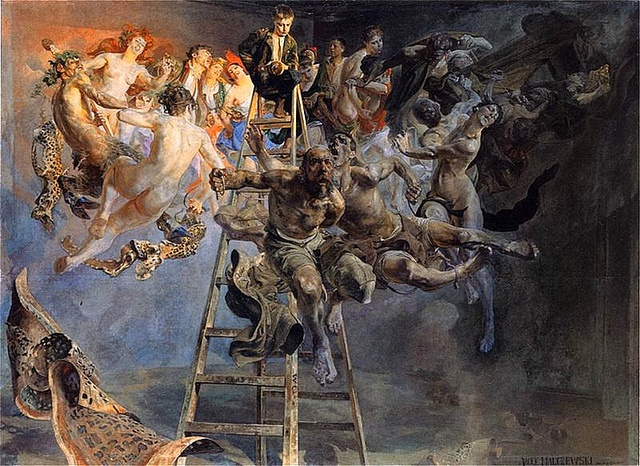 Malczewski, Jacek (1854-1929) -1895-97 Vicious Circle (National Museum, Poznan, Poland) by RasMarley, via Flickr