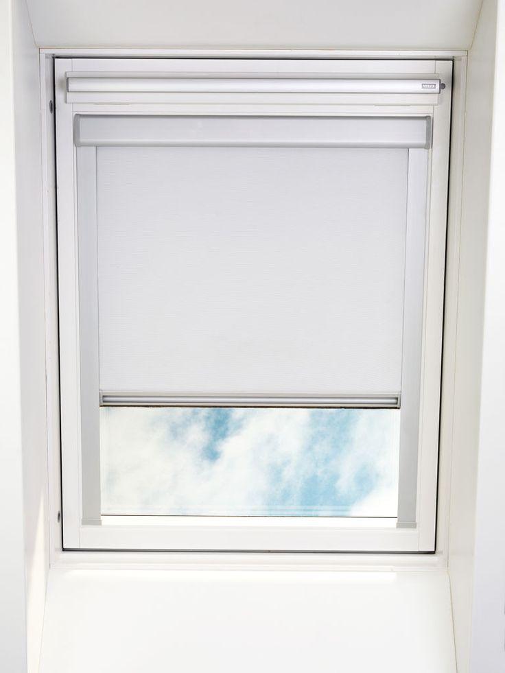Rullegardin lystett BOREN ovenlys hvit | JYSK