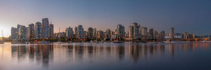 Vancouver City Lights by Dominic Walter / 500px