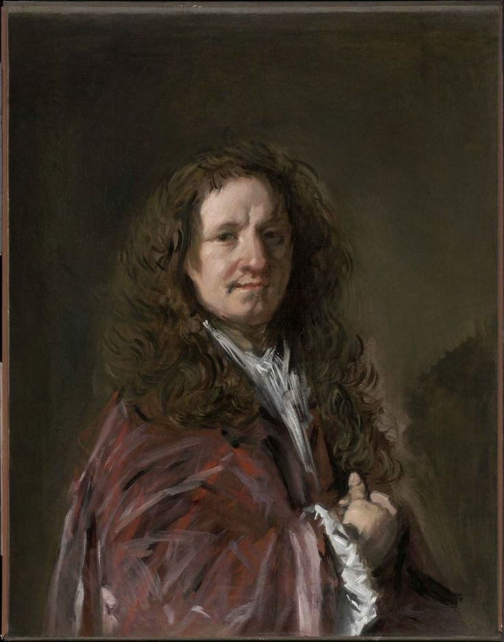 "Frans Hals, Portrait of a Man, c. 1665 From the Museum of Fine Arts, Boston: Frans Hals, foremost painter in the Dutch city of Haarlem, was one of the most original and penetrating portraitists of the seventeenth century. This work, painted when the artist was in his eighties, is striking for the freedom of its vigorous brushwork. At the time, an admirer described Hals's late portraits as ""very rough and bold, nimbly touched and well-ordered."