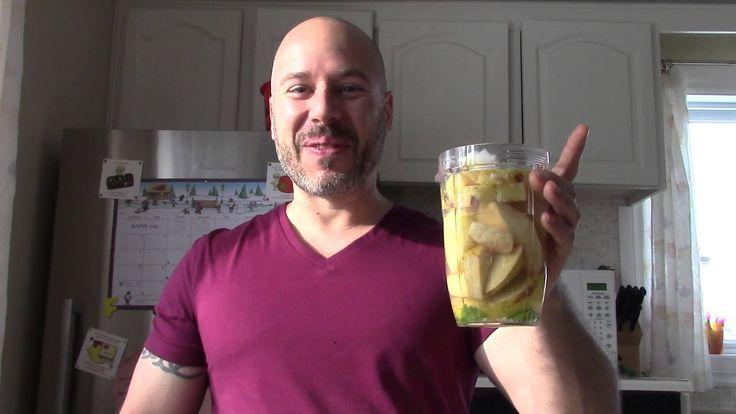 comment préparer un jus de coing ananas