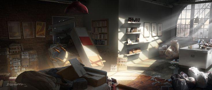 """The Division"" E3 2014 trailer concept art, François Baranger on ArtStation at http://www.artstation.com/artwork/the-division-e3-2014-trailer-concept-art-e06fb23d-aa7b-4923-81f5-9d4a67f0a6c5"
