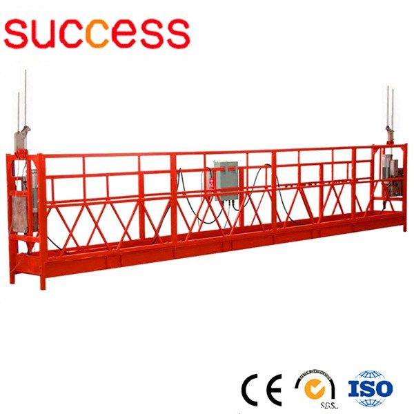 ZLP630 aerial suspended platform/cradle,suspended scaffolding platform     More: https://www.ketabkhun.com/platform/zlp630-aerial-suspended-platformcradlesuspended-scaffolding-platform.html