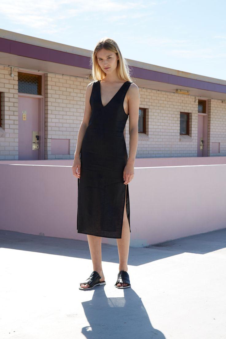 THIRD FORM RESORT 16 COLLECTION | SWEET SURRENDER DRESS  #thirdform #fashion #streetstyle #minimalism #chic #trend #dress #black