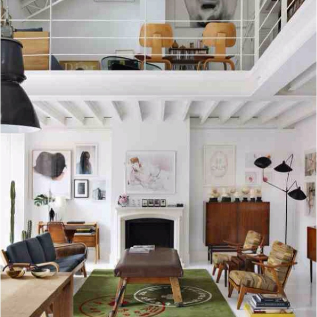 White Living Spaces: 45 Best Images About Exposed Floor Joists On Pinterest