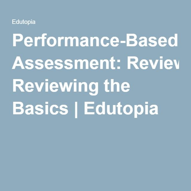 1000+ images about Performance Based Assessments na Pintereście - performance assessment