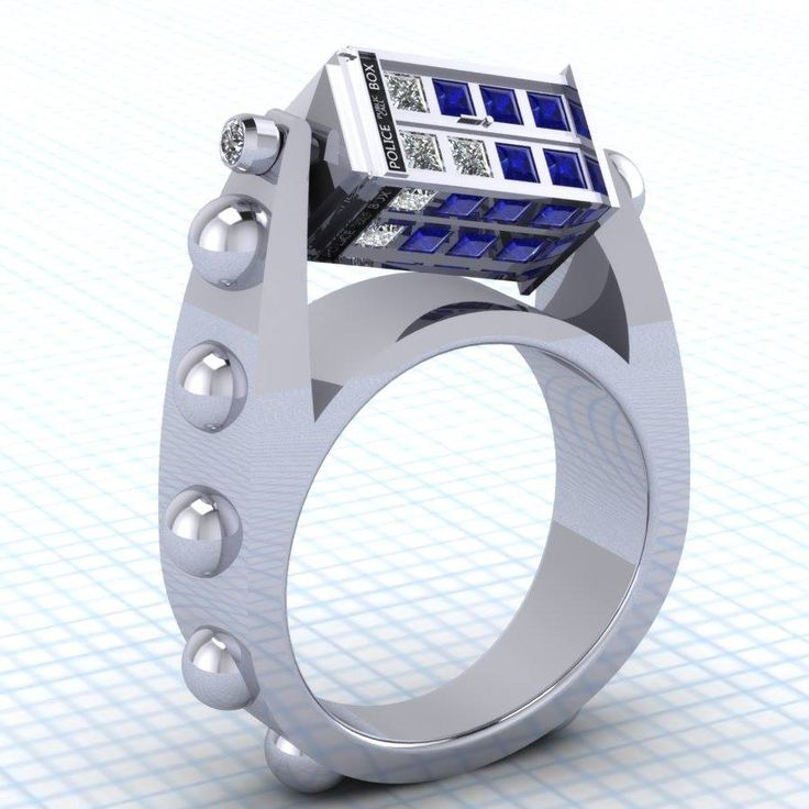 doctor-who-inspired-spinning-tardis-rings
