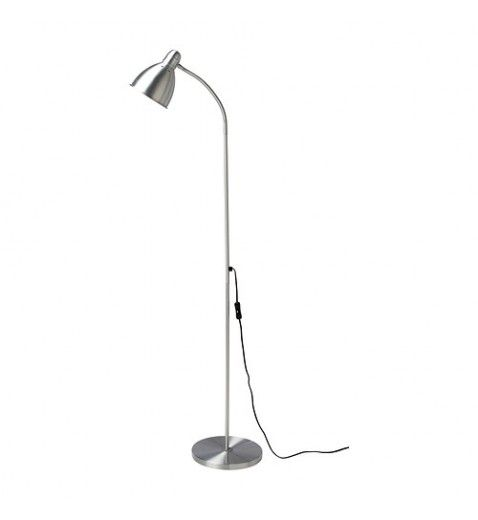 IKEA LERSTA Floor Reading lamp, Aluminium