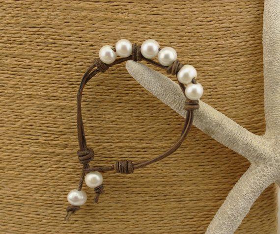 ETS-B155 Handmade freshwater pearl beaded by PearlJewellery