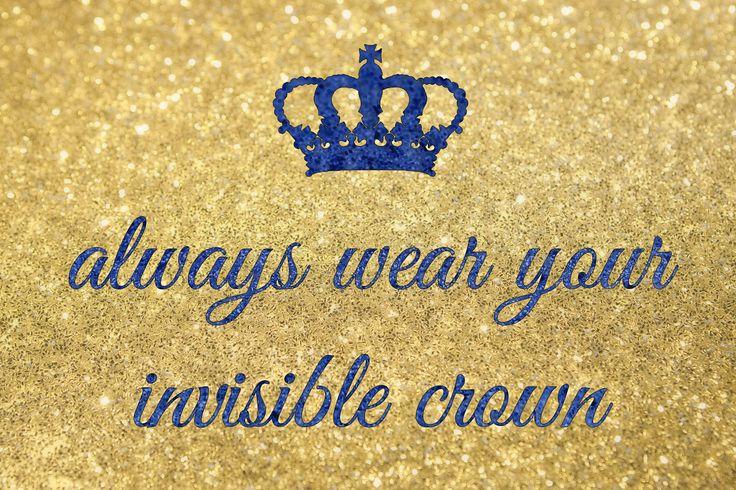 Acesta este reminderul tau zilnic : Poarta-ti întotdeauna coroana invizibila! #lifestyle,#studivideochat,#fete.#queen,#iasi,#citate.