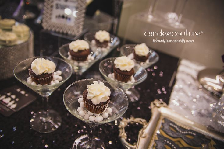 Ladainian Tomlinson's Event at the Maserati Dealership - Masquerade Themed Dessert Table - Candee Couture