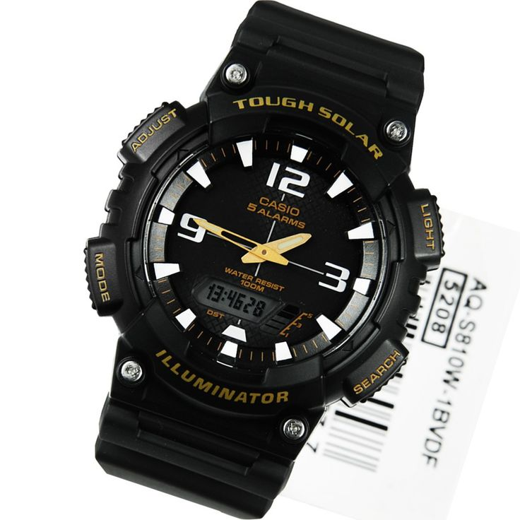 A-Watches.com - Casio Tough Solar Watch AQ-S810W-1BVDF AQ-S810W-1, $32.00 (http://www.a-watches.com/casio-tough-solar-watch-aq-s810w-1bvdf/)