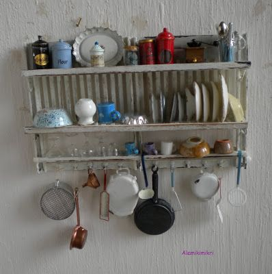 416 best mini kitchen images on Pinterest   Dolls, Figurines and ...