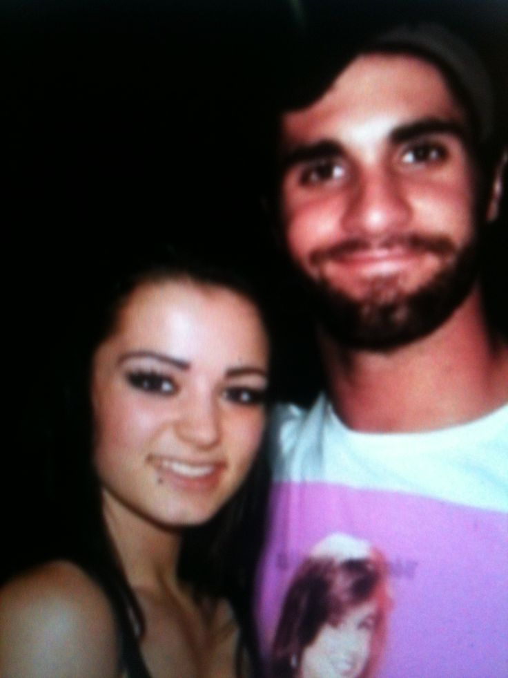 Seth rollins and Paige   Wwe   Pinterest