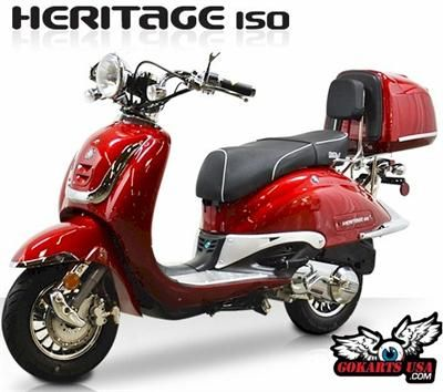 bms heritage 150 moped scooter california legal scooters. Black Bedroom Furniture Sets. Home Design Ideas