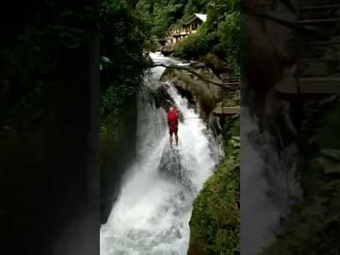 Waterfall - Mindo, Ecuador