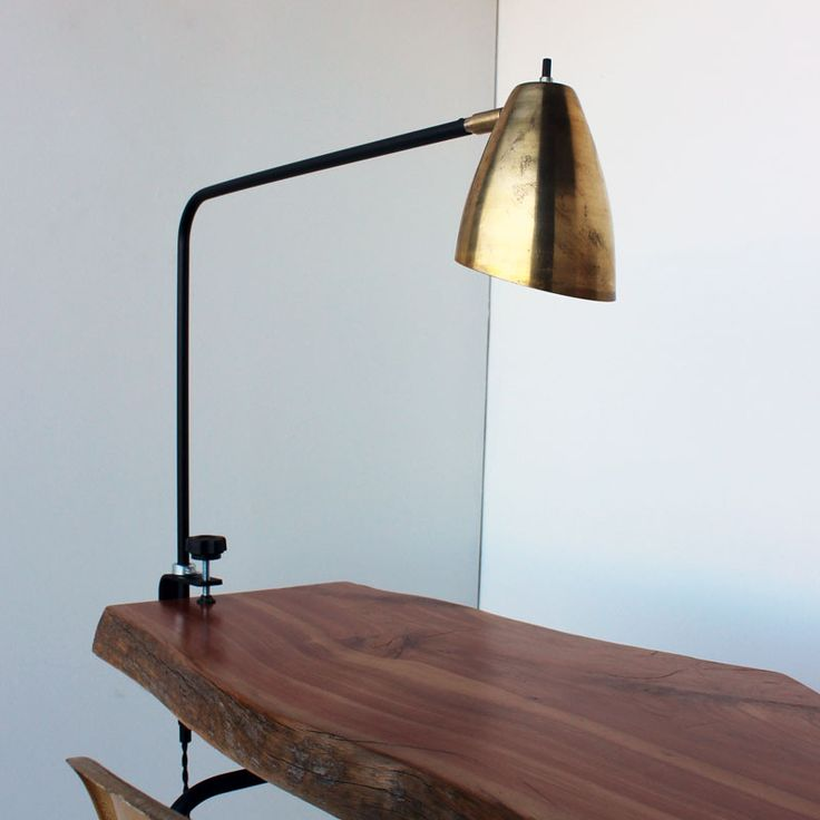 obsessed with this furniture studio desk clamp on swing lamp. Black Bedroom Furniture Sets. Home Design Ideas