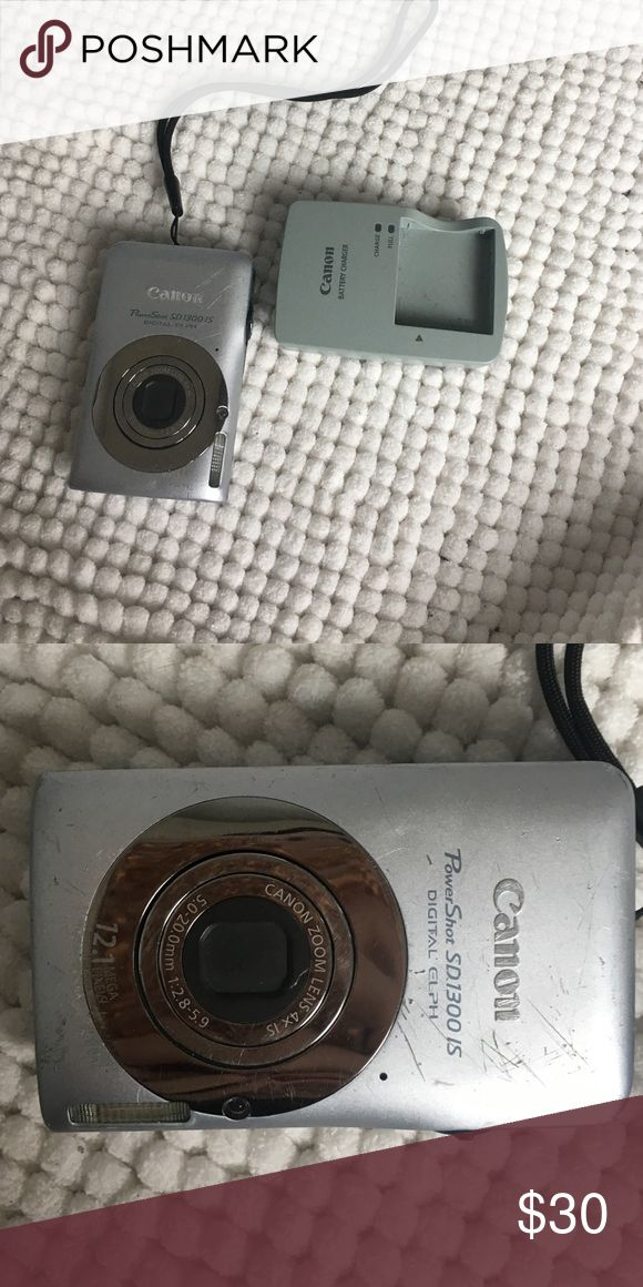 Canon digital camera This camera I have had for awhile I'm selling cuz I don't use it anymore. It's very scratched up but the price will reflect on it. Great if you travel a lot or starting out to be a photographer! canon Other