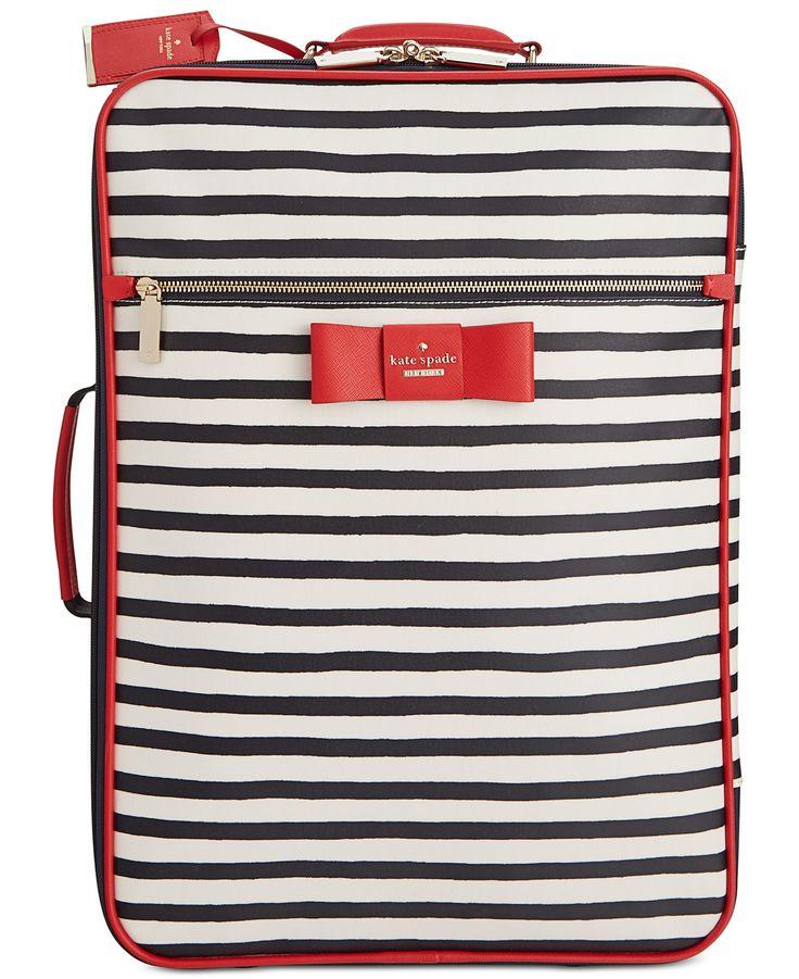 kate spade new york Julia Street Stripe International Carry-On - kate spade new york - Handbags & Accessories - Macy's