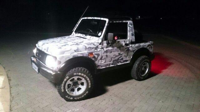 Camo Suzuki Samurai Wrap Jeep Wrangler Jeep Samurai
