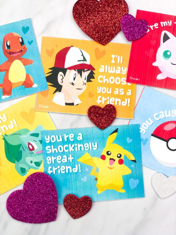 image relating to Pokemon Valentine Cards Printable called Cost-free Printable Pokemon Valentines Playing cards Your Children Will Be