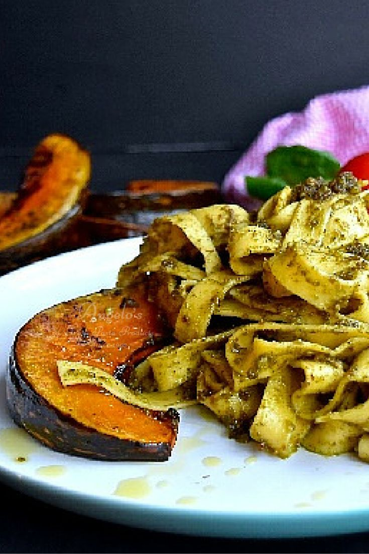 A taste bud sensation! This pesto and roast pumpkin pappardelle recipe is not only healthy it is also vegetarian, quick and easy to make, full of flavour and nutritious as well. Learn how to make it by visiting our website.