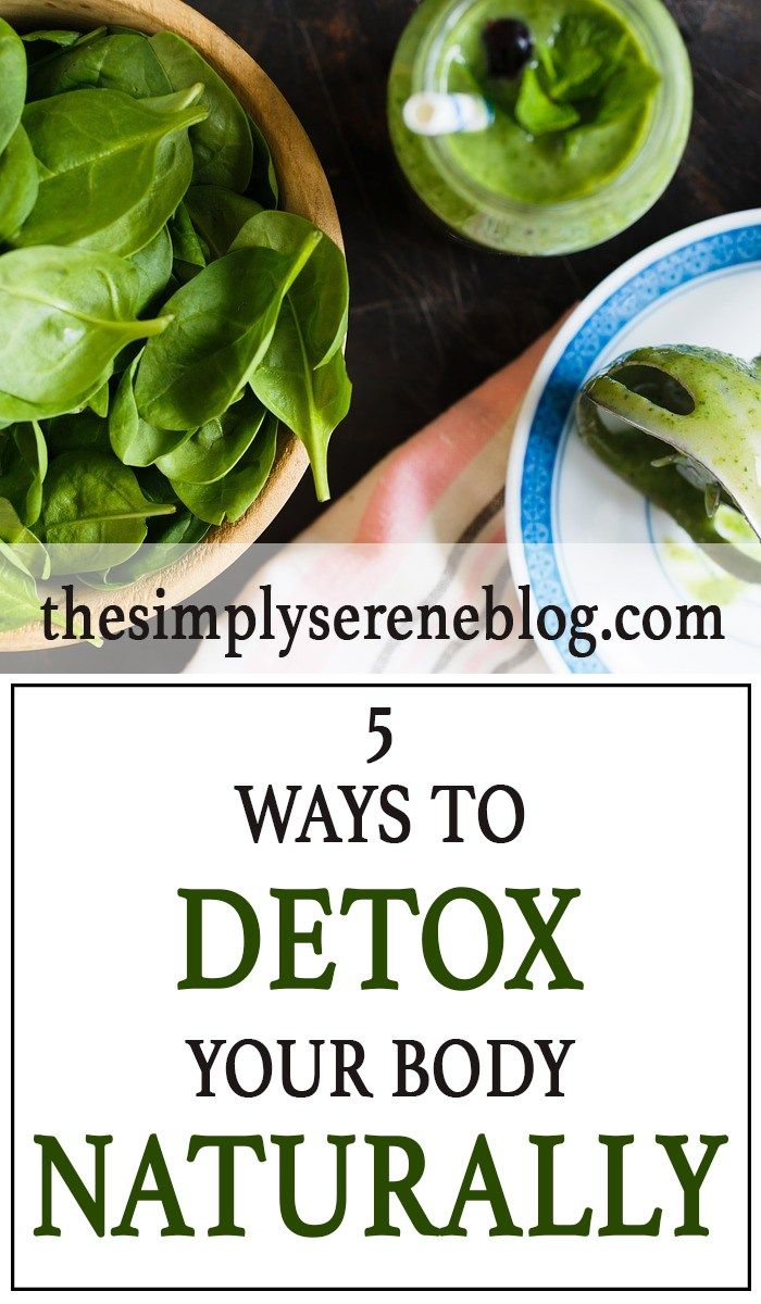5 ways to detox your body naturally | cleanse & detox