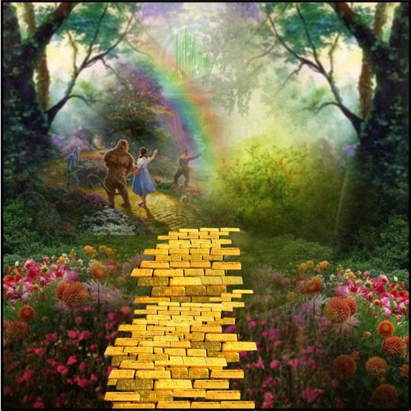 Follow The Yellow Brick Road by ooolala on Polyvore