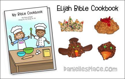 Elijah Bible Cookbook from www.daniellesplace.com
