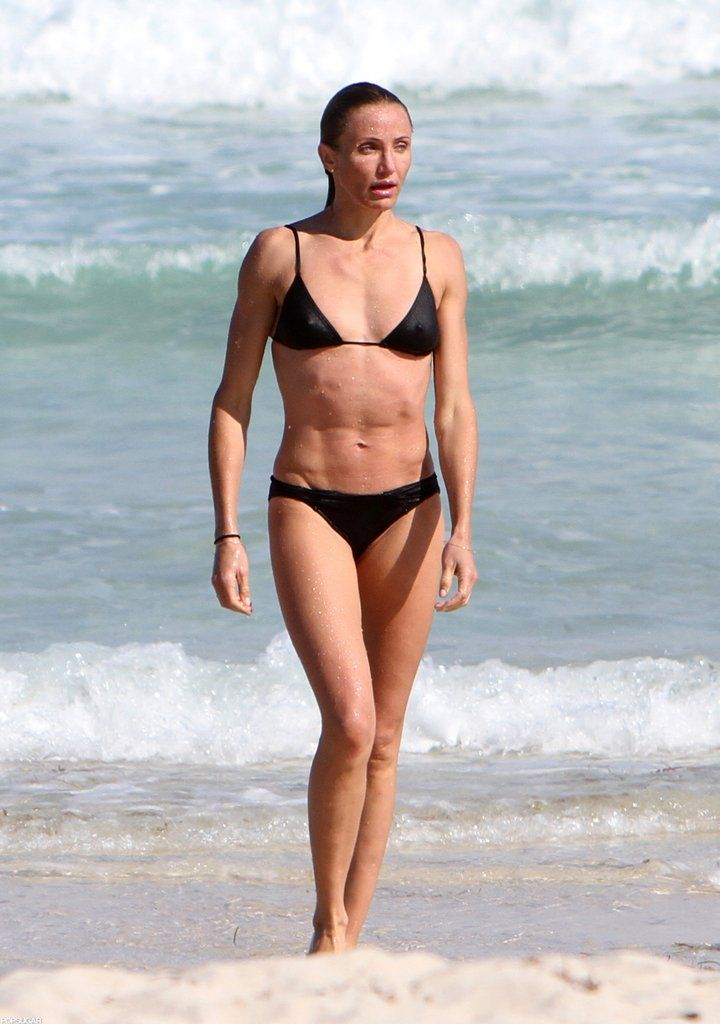 You thanks Cameron diaz see through bikini