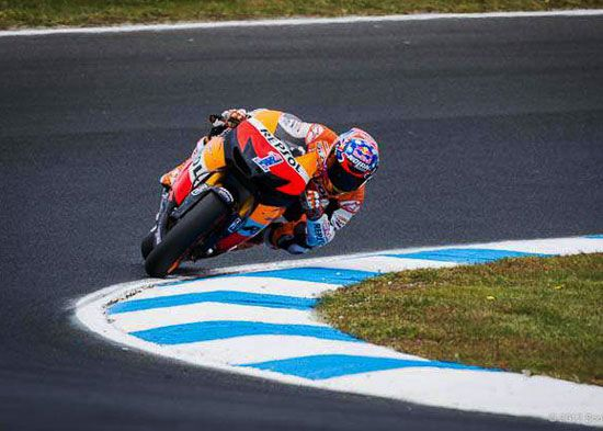 Wallpaper Casey Stoner, Motogp race Phillip Island, Autralia 2012. Stoner's last race in motogp Australia
