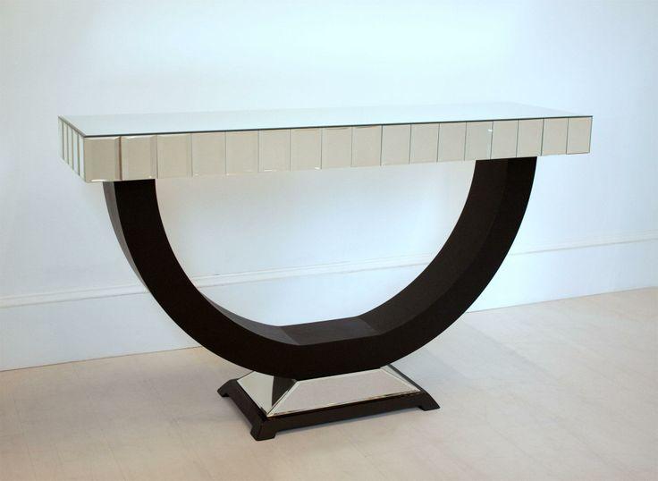 Art Deco Console (Mirrored Furniture Family K)