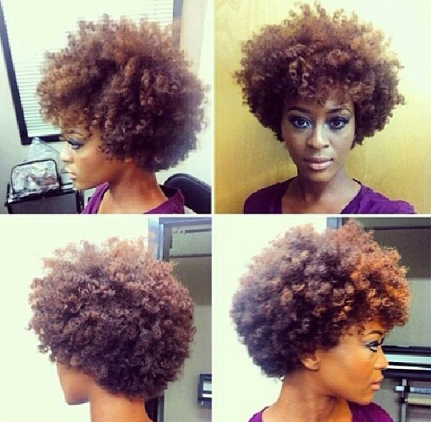Love the shape To learn how to grow your hair longer click here - http://blackhair.cc/1jSY2ux