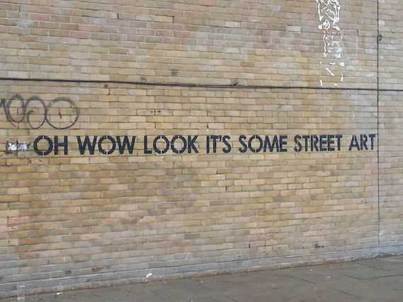 Best Banksy MOBSTR Street Vandalism Images On Pinterest - Sarcastic witty street art mobstr