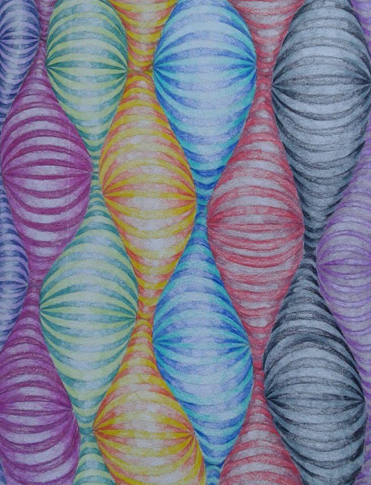 #art #worms #colours #illusion #colours