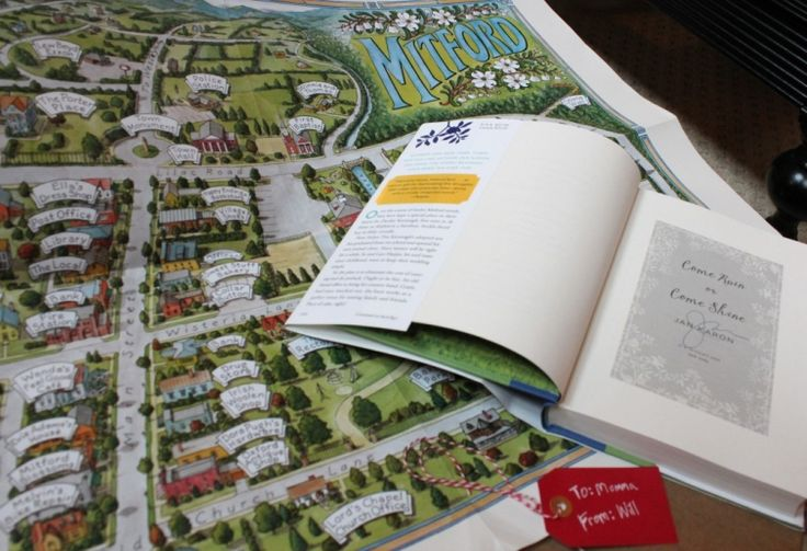 VERY creative blogger AND she loves Jan Karon, too! Mitford book and map