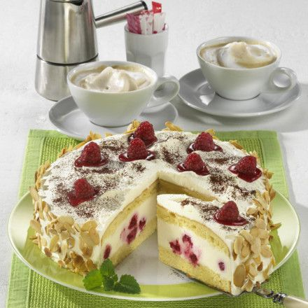 Himbeer-Panna-cotta-Torte Rezept