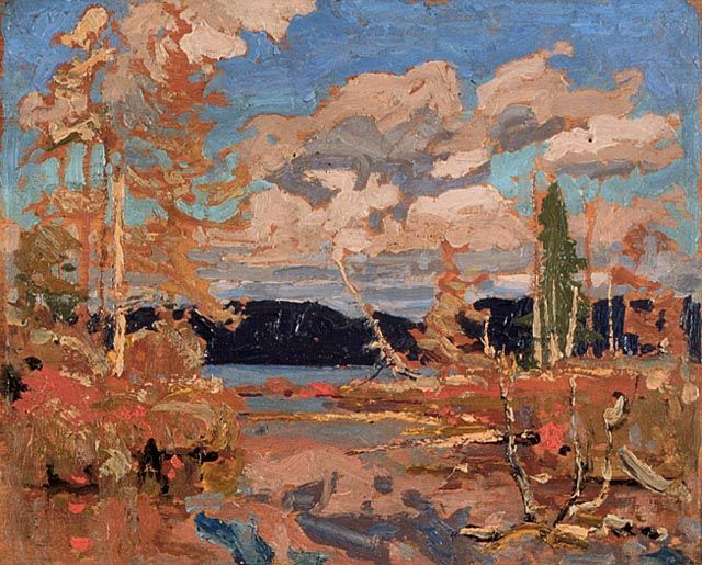 Tom Thomson Bright Day 1916