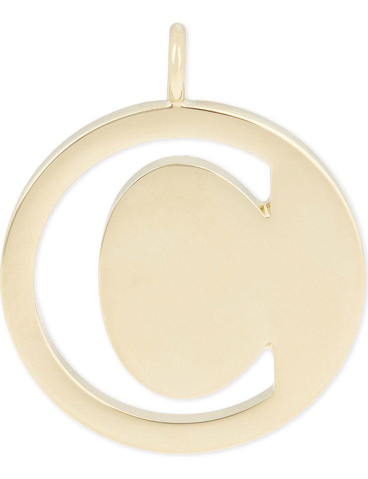 CHLOE Alphabet C pendant