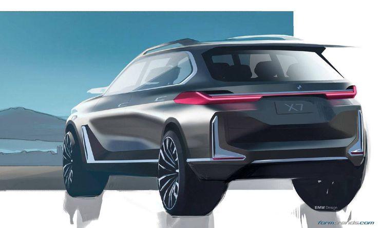 BMW X7 iPerformance concept sketch