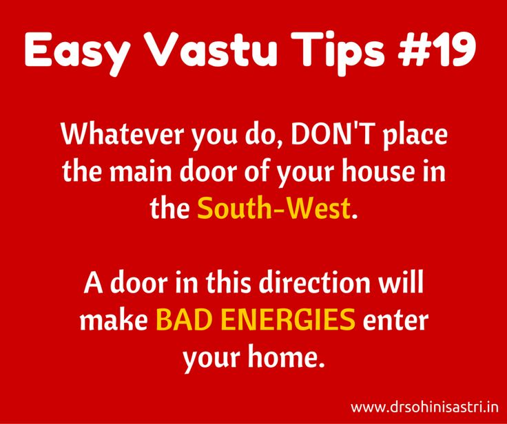 Nobody likes bad energies to enter their homes. How can you avoid it? #vastu, #VastuShastra, #VastuTips