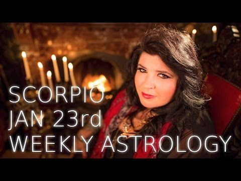 Your Horoscope: Scorpio Weekly Astrology Forecast 23rd January 201...