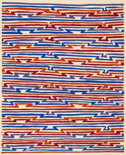 Textile design by Sonia Delaunay.