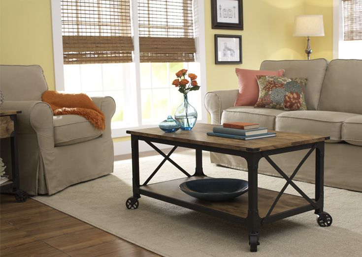 Rustic Country Coffee Table