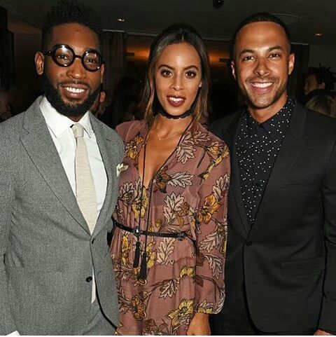 Tinnie Tempah, Marvin and Rochelle Humes (2016)